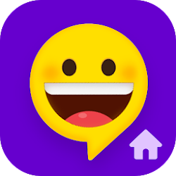 Quick SMS Launcher: Emoji Customize Chat