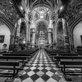 by Roberto Gonzalo - Black & White Buildings & Architecture