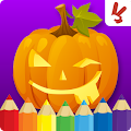 Game Kids coloring book halloween APK for Kindle