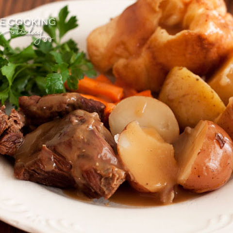 Classic Pot Roast and Potatoes