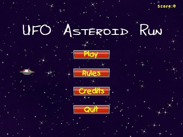 UFO-Asteroid-Run 18