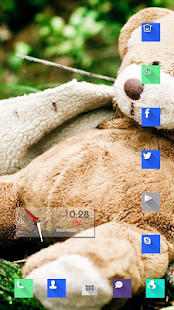 Cute teddy bear wild theme - screenshot