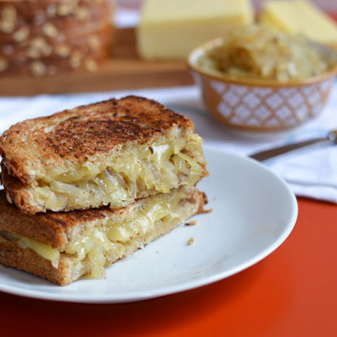 Onion Confit + Grilled Cheese