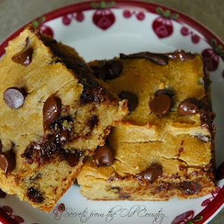 Gluten Free Chickpea Chocolate Chip Blondies