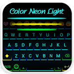 Neon Light Emoji Keyboard Skin 1.1.2 Apk