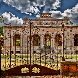 Abandoned  thermal baths (Livorno, Tuscany, Italy) by Gianluca Presto - Buildings & Architecture Decaying & Abandoned ( nobody, old, tuscany, thermal, art, architectural detail, architecture, historic, liberty, liberty style, ancient, dramatic, silence, italy, decaying, thermal baths, abandoned, decay,  )