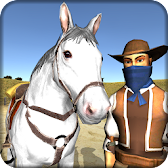 Cowboy Horse Riding Simulation APK Icon