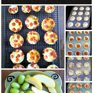 Mini Tortilla Crusted Pizzas
