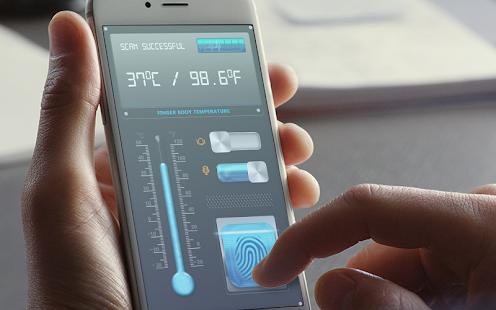 Body Temperature Thermometer : Fever Checker Diary