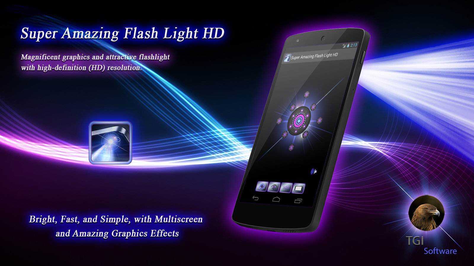 Super Amazing FlashLight Pro Screenshot 3