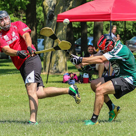 Milwaukee Hurling by Michael Stefanich Jr. - Sports & Fitness Other Sports ( #browndeer, #hurling, #sports, #sliotar, #athletics, #mikestefanichjr, #park, #wisconsin, #milwaukee )