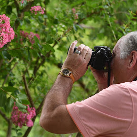 Nature Photographer  by Lorraine D.  Heaney - People Street & Candids