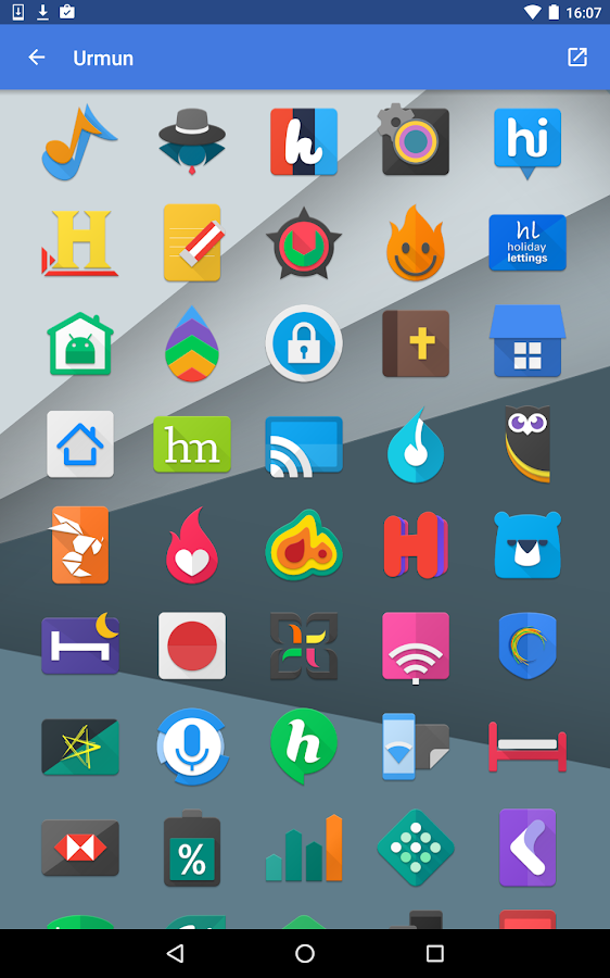Urmun - Icon Pack Screenshot 14