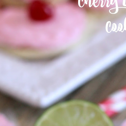 Cherry Limeade Cookies