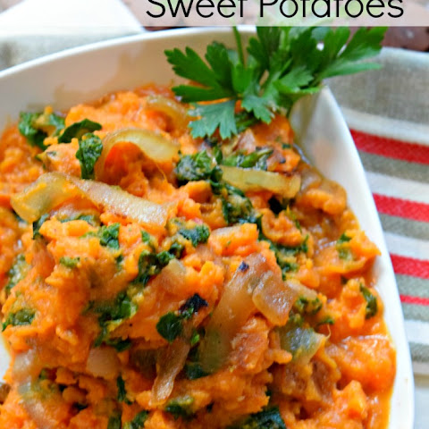 Kale and Caramelized Onion Sweet Potatoes + Favorite Fall Recipes