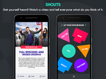 Voot TV Shows Movies Cartoons APK for iPhone