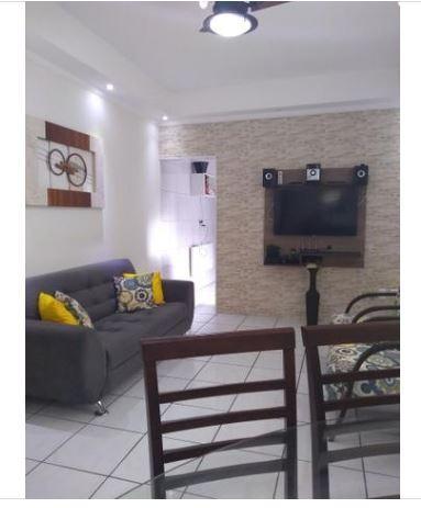 Sobreposta alta com 2 dormitórios à venda, 98 m² por R$ 245.000 - Parque São Vicente - São Vicente/SP