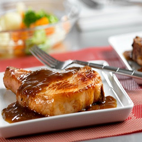 Quick Glazed Pork Chops