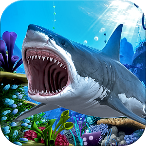Angry Shark Survival Hunger- Free Games Icon