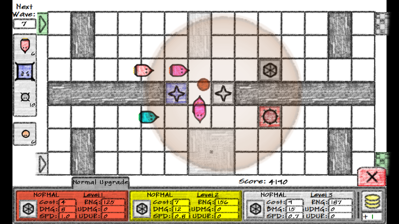 Doodle Defense Screenshot 2