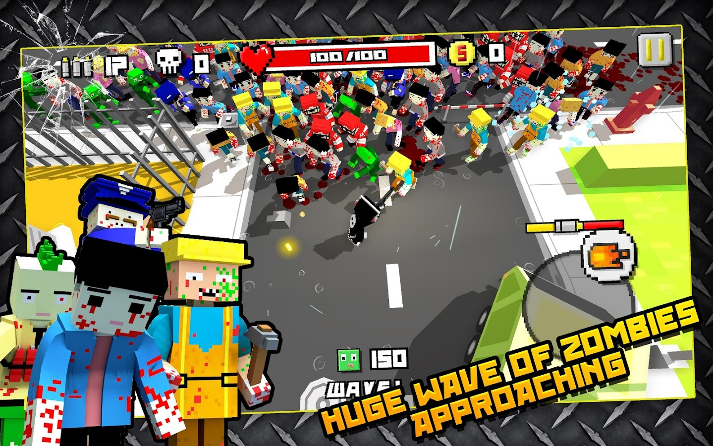 Zombie Breakout: Blood & Chaos Screenshot 0