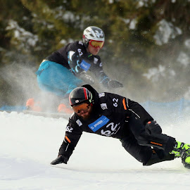 Paralle giant slalom race by Igor Martinšek - Sports & Fitness Snow Sports ( rogla slovenia, fis snowboard world cup 2018, paralle giantl slalom race )