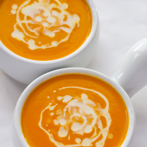 Creamy Carrot & Ginger Soup