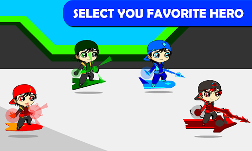 Boy Skater Battle Robot- screenshot thumbnail