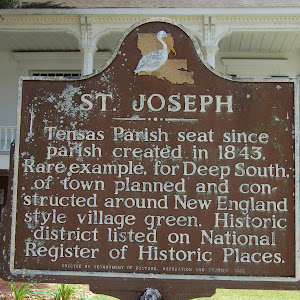 Tensas Parish seat since parish created in 1843. Rare example, for Deep South, of town planned and constructed around New England style village green. Historic district listed on National Register of ...
