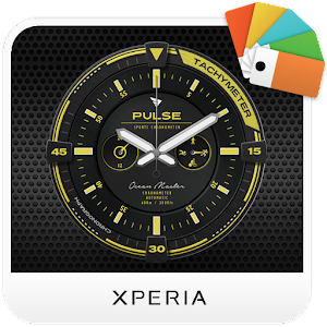 Download XPERIA™ Pulse Chrono Theme For PC Windows and Mac