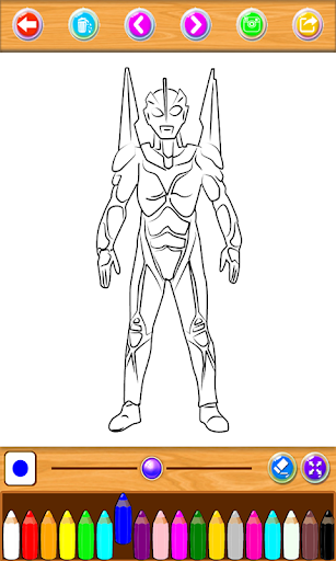 Ultraman Coloring Book Apk Download Free for PC, smart TV