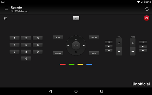 Remote for Sony TV screenshot 4