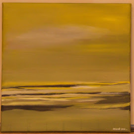 Doordrongen van stemming by Kris Van den Bossche - Painting All Painting