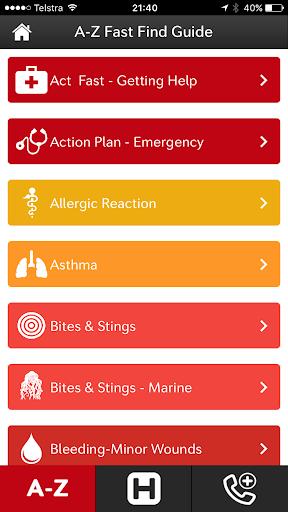 First Aid Fast - screenshot