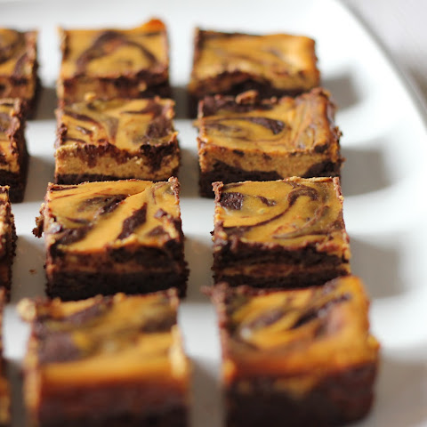 Pumpkin Cream Cheese Brownies (Gluten Free)
