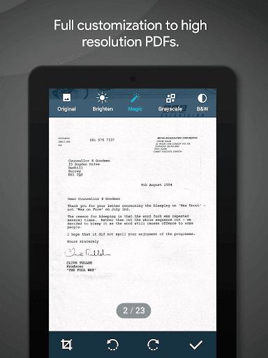 MobiSystems Quick PDF Scanner + OCR FREE screenshot 18