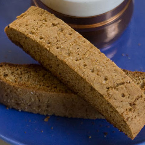 Honey Graham Biscotti