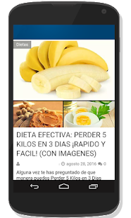 Dieta:Pierde 5 Kilos En 3 Días - screenshot