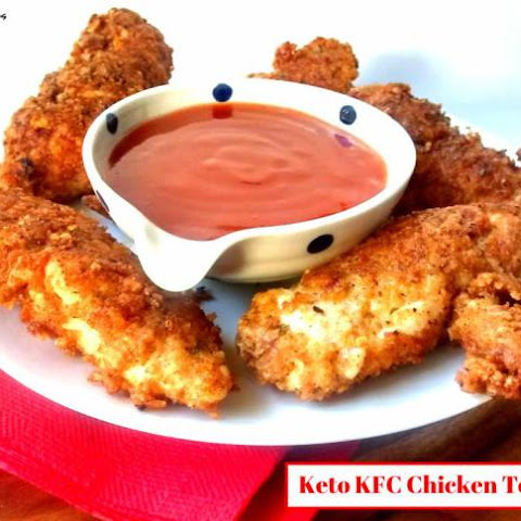 Keto KFC Chicken Tenders