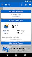 Screenshot of MTSU Mobile