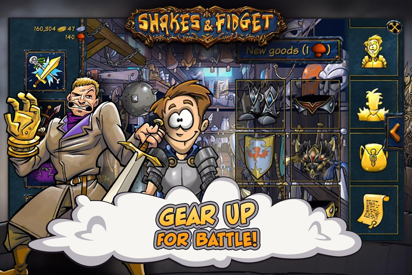 Shakes and Fidget Screenshot 2