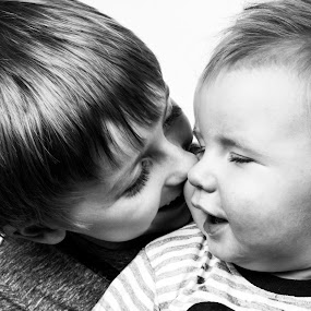 Brotherly love  by Sam Baxter - Babies & Children Children Candids