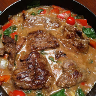 Sirloin Steak With Cream Of Mushroom Soup Recipes