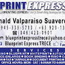 Blueprint express trece blueprint service in trece martires city cad plotting blueprint whiteprint malvernweather Image collections