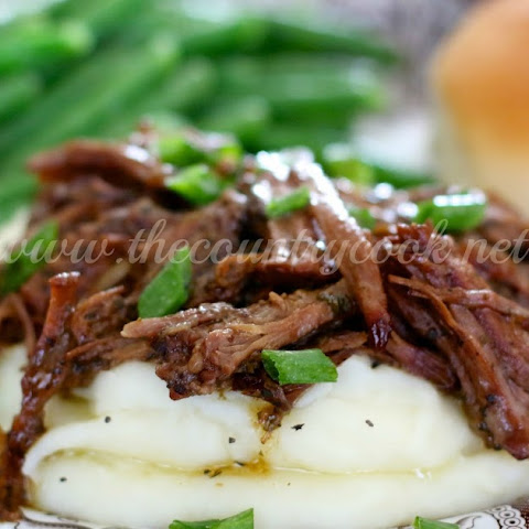 Crock Pot Mississippi Pot Roast