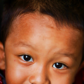 looking to my eyes by Yustino Almanik - Babies & Children Child Portraits (  )