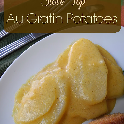 Stove Top Au Gratin Potatoes