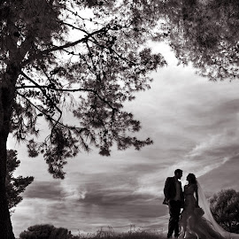 stunning love by Scott Nelson - Wedding Bride & Groom ( orange county, weddings, infrared, los angeles )
