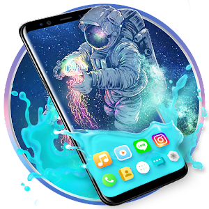 Gravity Astronaut Themes HD Wallpapers 3D icons For PC / Windows 7/8/10 / Mac – Free Download