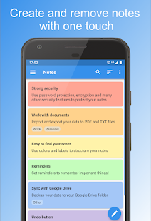 Private Notepad - notes & checklists Screenshot